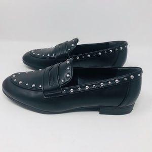 Sam Edelman, 8, Black, Harlee Studded Loafers